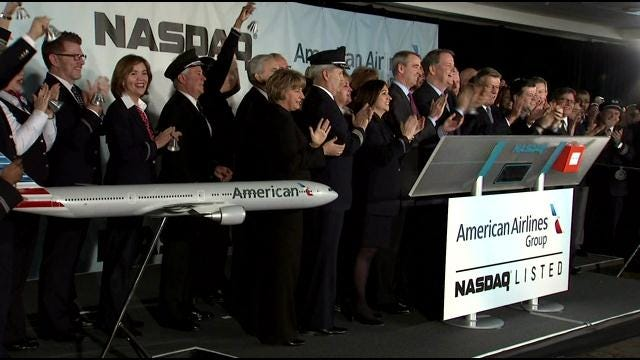 WEB EXTRA: American Airlines Rings NASDAQ Opening Bell