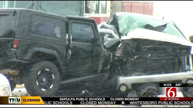 Sapulpa Man, 75, Killed In Head-On Crash On Highway 33
