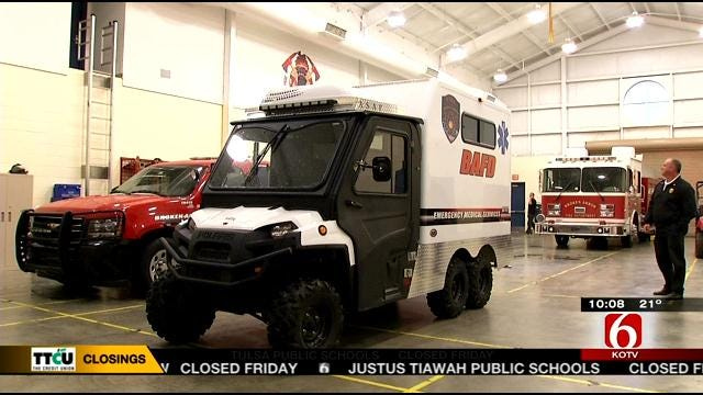 Sleet In Tulsa, Broken Arrow Keeps Road Crews Busy