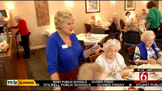 Tulsa Meals On Wheels, Broadmoor Helping Elderly Through Winter Storm