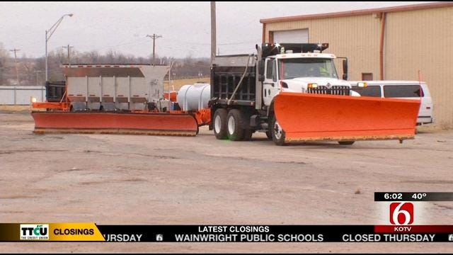 'The Beast' Ready To Clear Oklahoma's Turnpikes This Winter