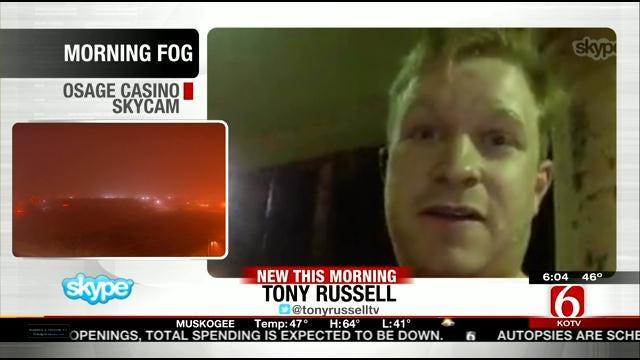 WEB EXTRA: Tony Russell Talks About Canceled Flight to Tulsa