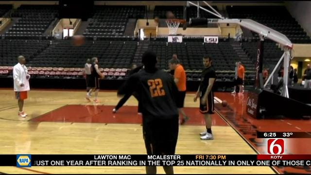 Oklahoma State Preps For Old Spice Classic