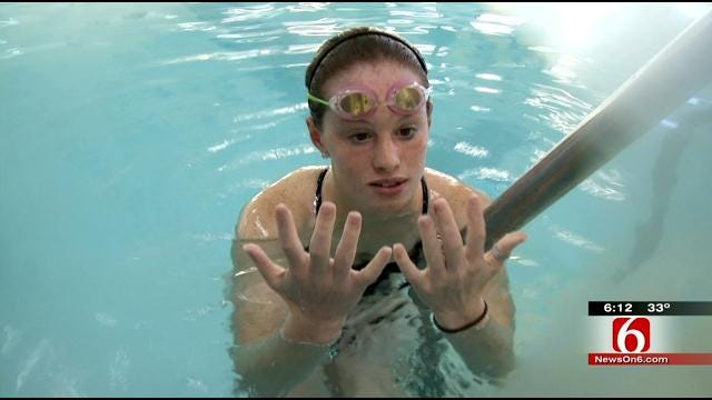 BA Teen Raises Money For Troops With 24-Hour Swim