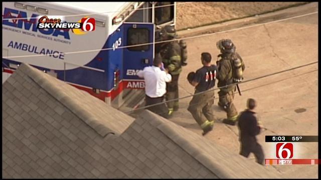 Tulsa Firefighter Recounts Tragic Fire At London Square Apartments