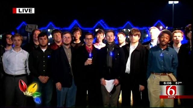 Phi Mu Alpha Sinfonia Performs At University Of Tulsa Night Light