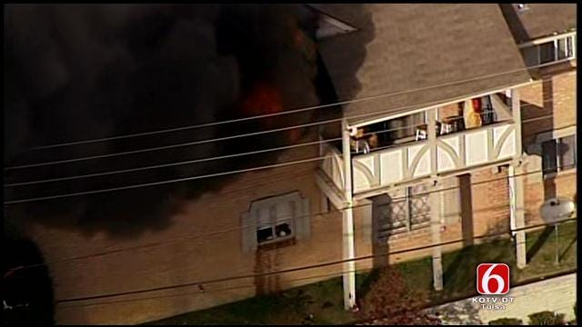 Osage Skynews 6: Apartment Fire At London Square Apartments