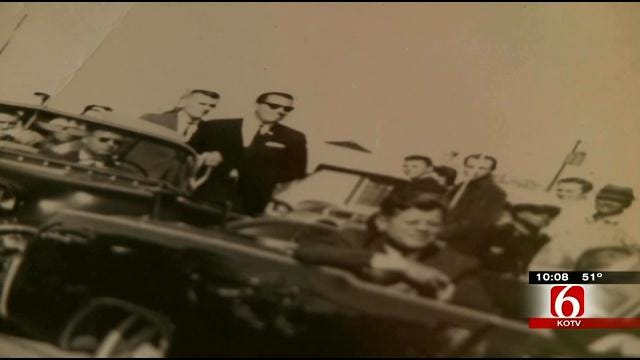 OK Woman Shares Never-Before-Seen Photo Of JFK Just Before Assassination