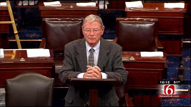 Senator Jim Inhofe Thanks Colleagues After Loss Of Son In Plane Crash