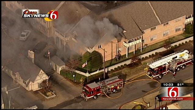 TFD: 2 Killed In Fire At Tulsa's London Square Apartments