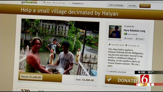 Oklahoma Couple Talks About Their Fear For Philippine Relatives