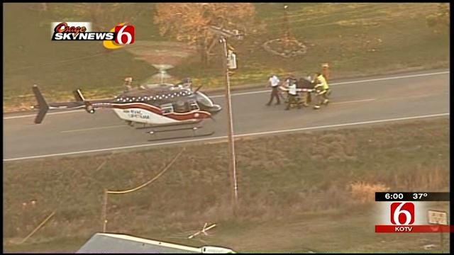 Mayes County Deputy: 3 Teens Injured In Crash With School Bus