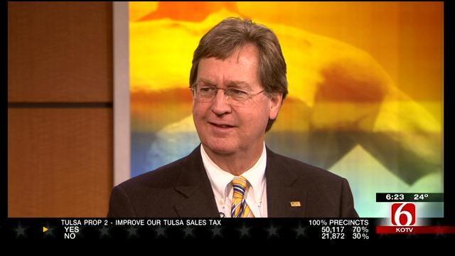 Tulsa Mayor Dewey Bartlett Talks About Election Win - Part 2