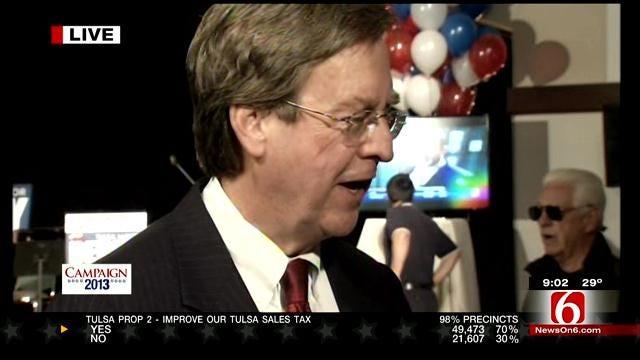 Tulsa Mayor Dewey Bartlett Defeats Kathy Taylor For Reelection