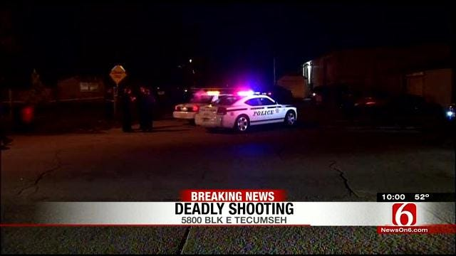 Police Investigating Deadly Shooting In North Tulsa