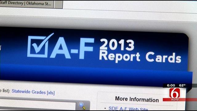 Glitch In Grades Reported Puts 'A-F Report Cards' In Question Again