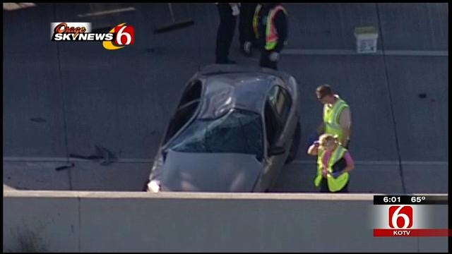 1 Dead In Crash On Northbound Highway 169, I-244 Exits Closed