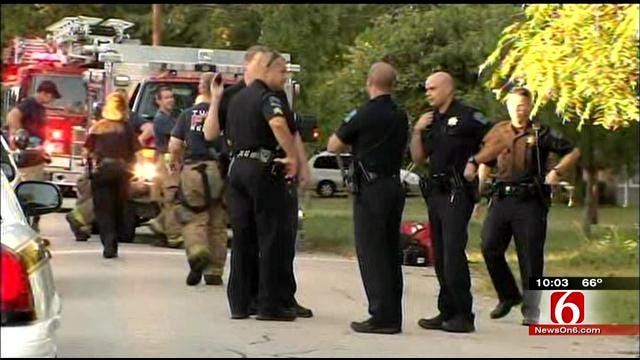 Police Search For Burglary Suspect Shot By Tulsa Homeowner