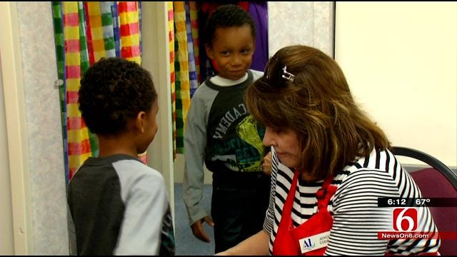 'Operation School Bell' Gives Tulsa Kids New Books, Clothes