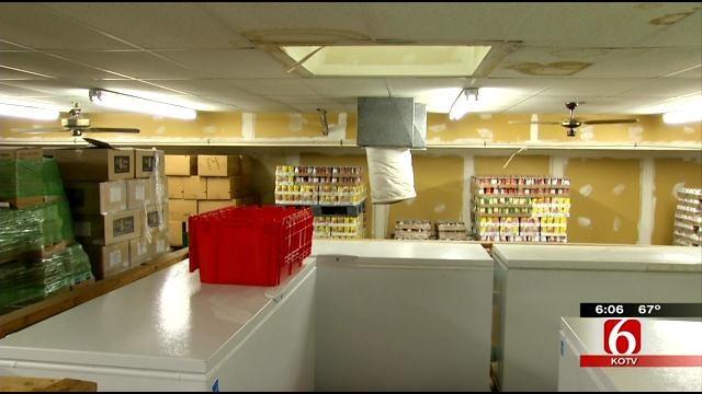 Downpour Soaks Building Of Tulsa Charity Desperate For Repairs