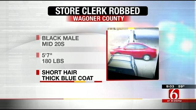 Wagoner County Sheriff Looking For Man Who Robbed E-Z Mart Employee