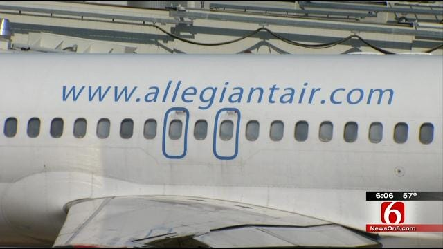 Fees Don't Stop Travelers From Taking Allegiant Air's First Flight From Tulsa