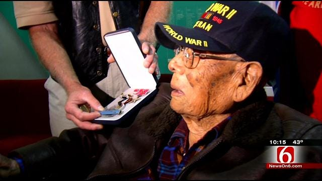 WWII POW Welcomed Home In Tulsa