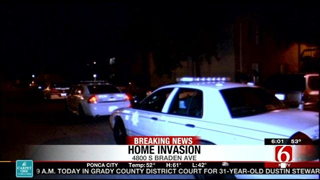 Suspects Wield Axe In Tulsa Home Invasion