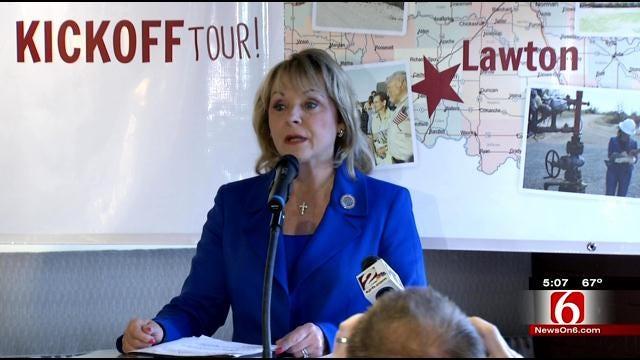 Gov. Mary Fallin Kicks Off Re-Election Campaign In Tulsa