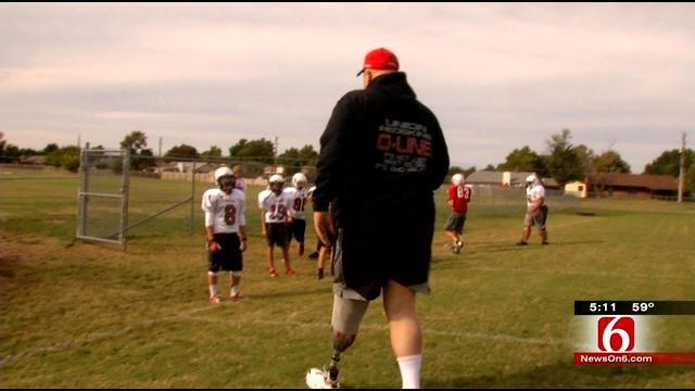 Tulsa Football Coach Gets Second Chance Through Wayman Tisdale Foundation