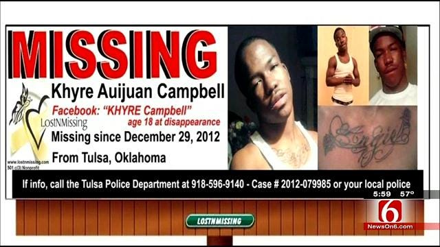 Tulsa Police ID Remains As Missing 18-Year-Old, Believed Murdered