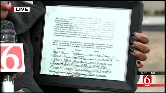 Judge Throws Out Rogers County Grand Jury Petition