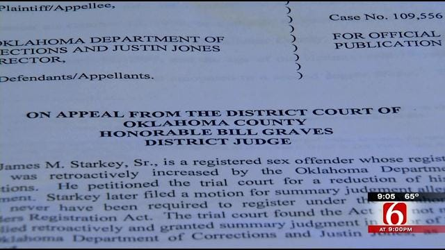 Oklahoma Counties Purging Some Sex Offenders From Registry