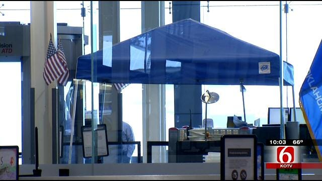 Work Underway To Replace Leaky Roof At Tulsa International Airport
