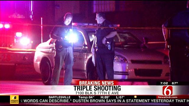 Triple South Tulsa Shooting Kills One, Wounds Two Others