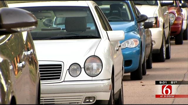 TPD Ticketing Fair Patrons Who Don't Follow Parking Ordinances