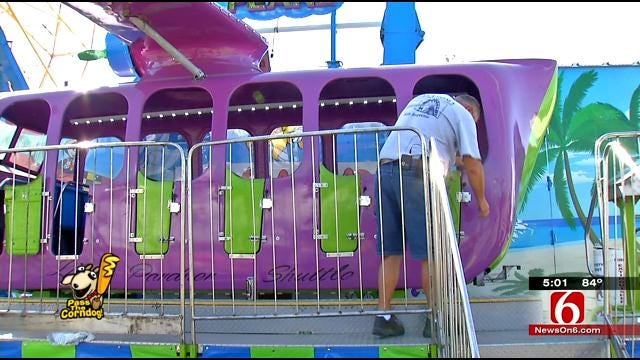 Safety Inspectors Busy Certifying Rides At Tulsa State Fair