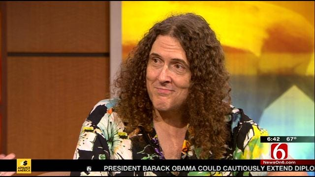 Weird Al Yankovic Stops By 6 In The Morning