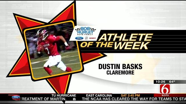 Dustin Basks Is The Player of the Week