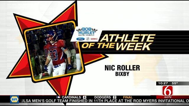Athlete Of The Week: Bixby's Nic Roller