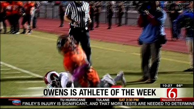 Deonta Owens Named Player of the Week