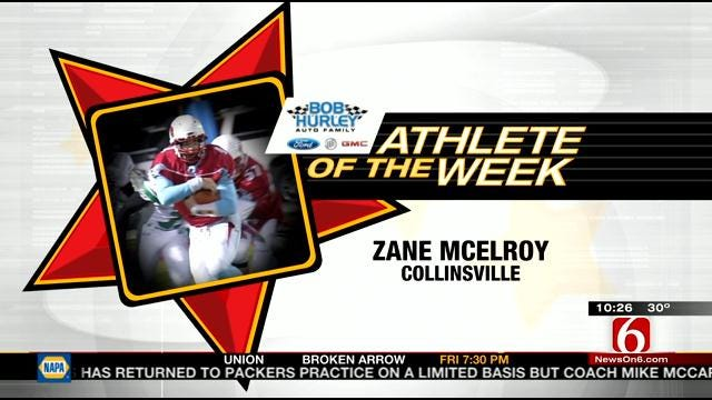 Athlete Of The Week: Collinsville's Zane McElroy
