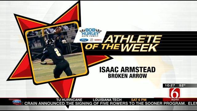 Athlete Of The Week: Broken Arrow's Isaac Armstead