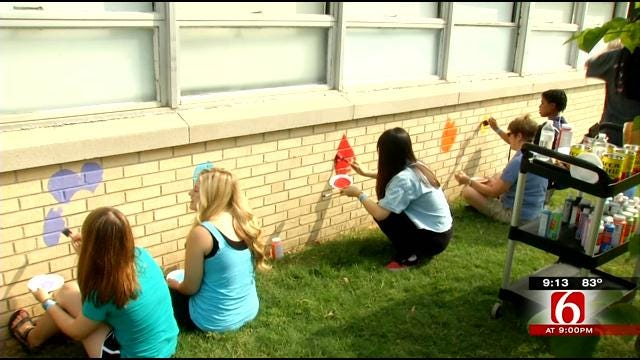 'Day Of Caring' Helps Casica Students Give Back To McKinley Elementary