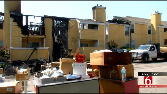 Dozens Of Tulsans Left Homeless From Apartment Fires