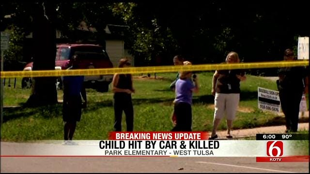 Girl Killed By SUV At Park Elementary School In West Tulsa