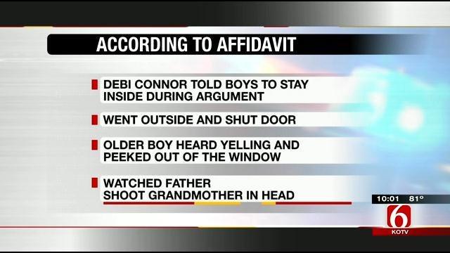 Affidavit Says Eldest Son Witnessed Father Kill Grandmother