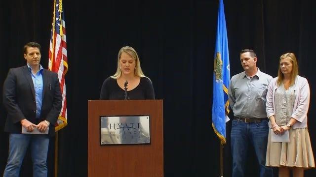 Part 1 of 4: 'Baby Veronica' Adoptive Parents Speak In Tulsa