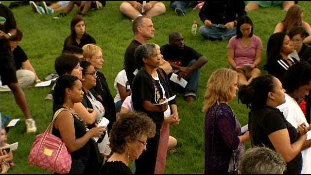 Tulsa's YWCA Holds Candlelight Vigil To Promote Racial Healing