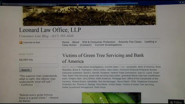 Sapulpa Woman Fighting Loan Company's Illegal 'Bully' Tactics
